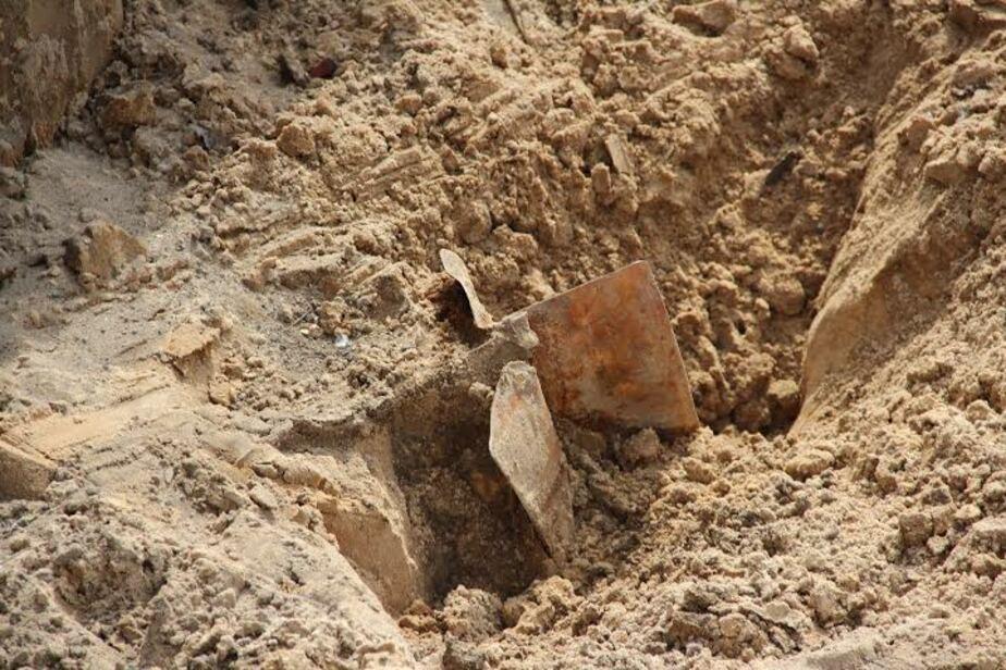 В Калининграде обнаружили два снаряда времён войны  - Новости Калининграда