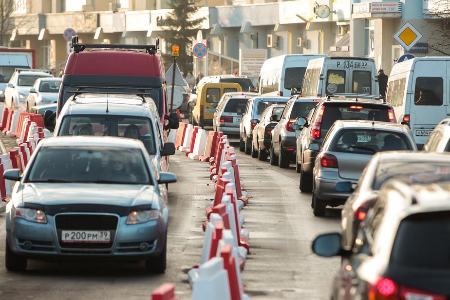 Подрядчик: Полосу на улице 9 Апреля уже нужно переделывать - Новости Калининграда