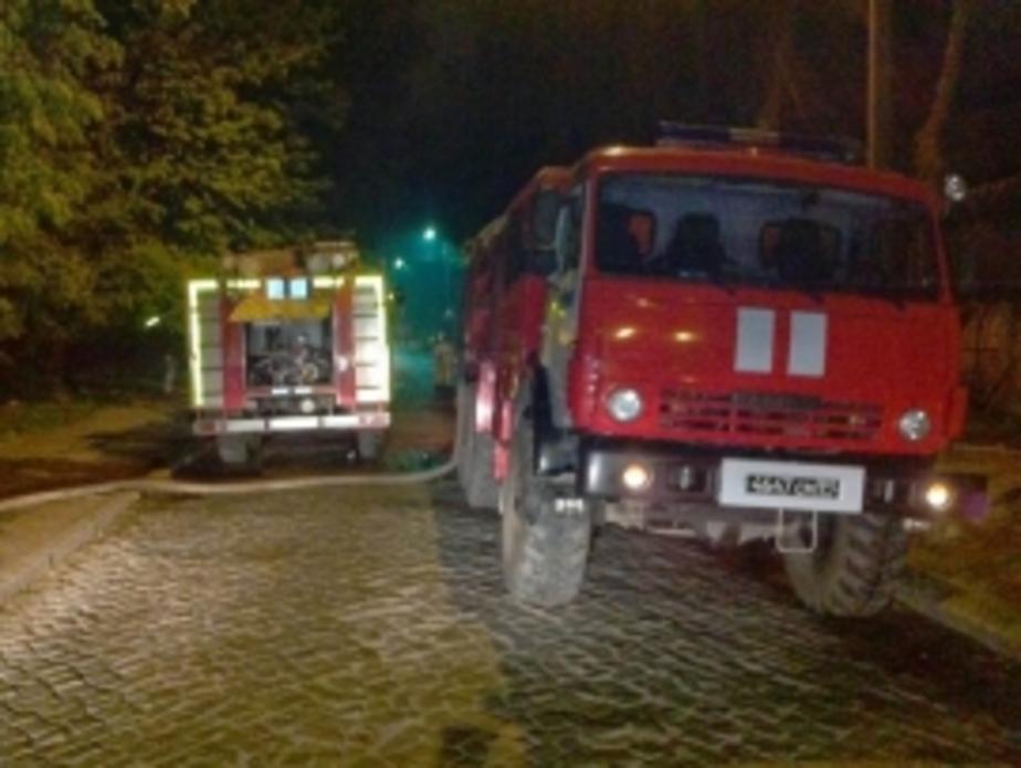 В Калининграде горел гостевой дом: есть пострадавший - Новости Калининграда