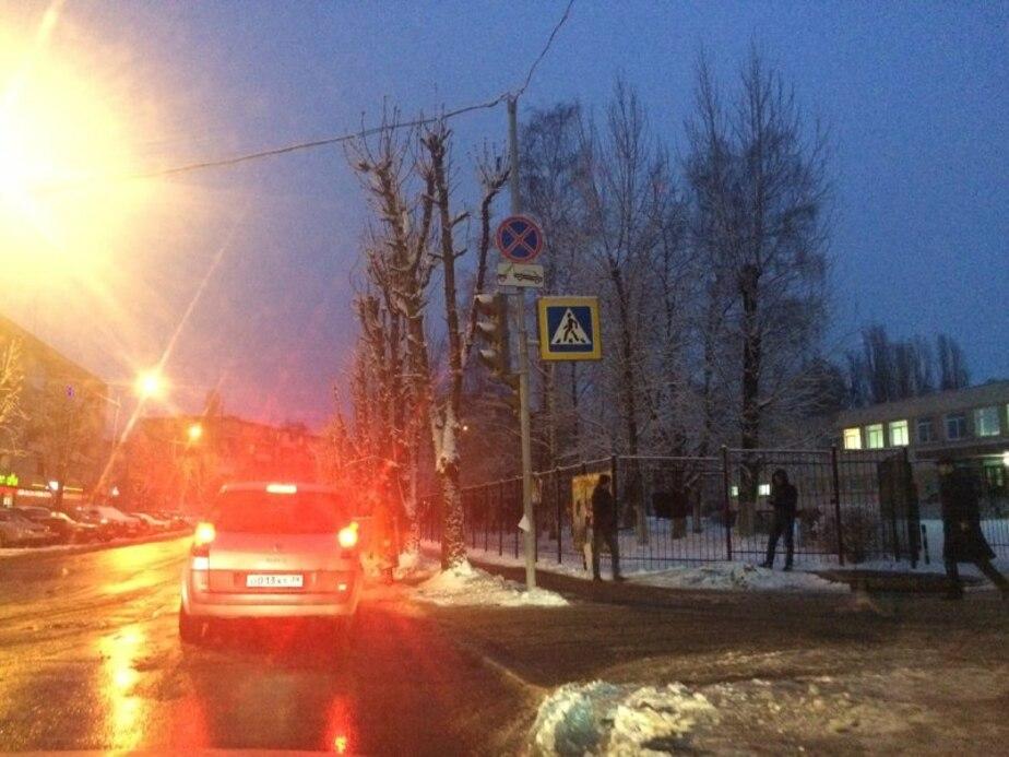 На ул. Пролетарская не работает светофор - Новости Калининграда