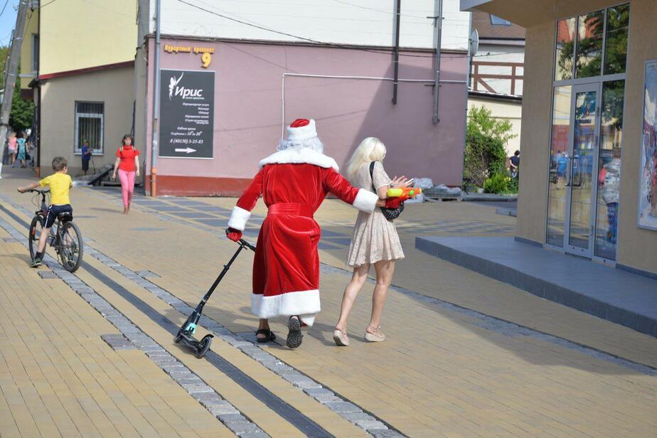 Отпуск Деда Мороза: в октябре калининградцы могут получить подарки - Новости Калининграда