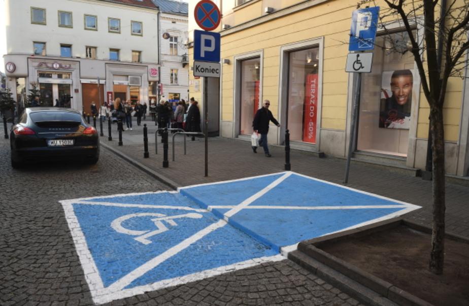 В Польше появилась новая дорожная разметка