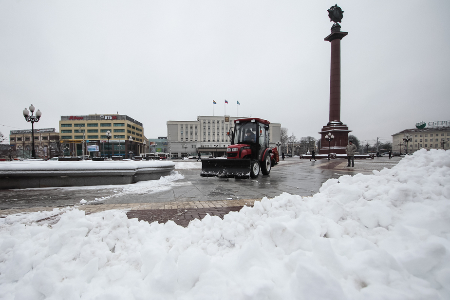 Особый патруль будет контролировать состояние калининградских дорог зимой - Новости Калининграда