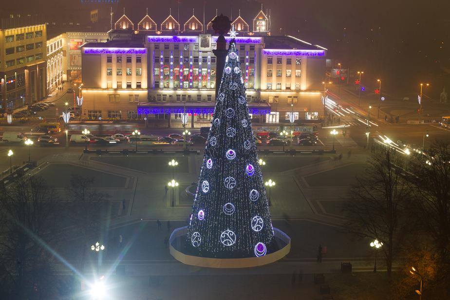 Что будет происходить 1 января на пл. Победы в Калининграде (сценарий гуляний)