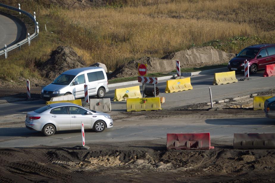 Пробки на Московском проспекте закупорили выезд из Калининграда  - Новости Калининграда