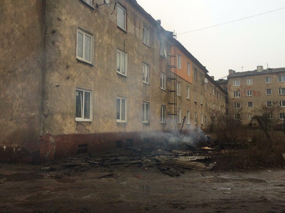 Жильцы горевшего дома на ул. Чаадаева сидят без газа - Новости Калининграда