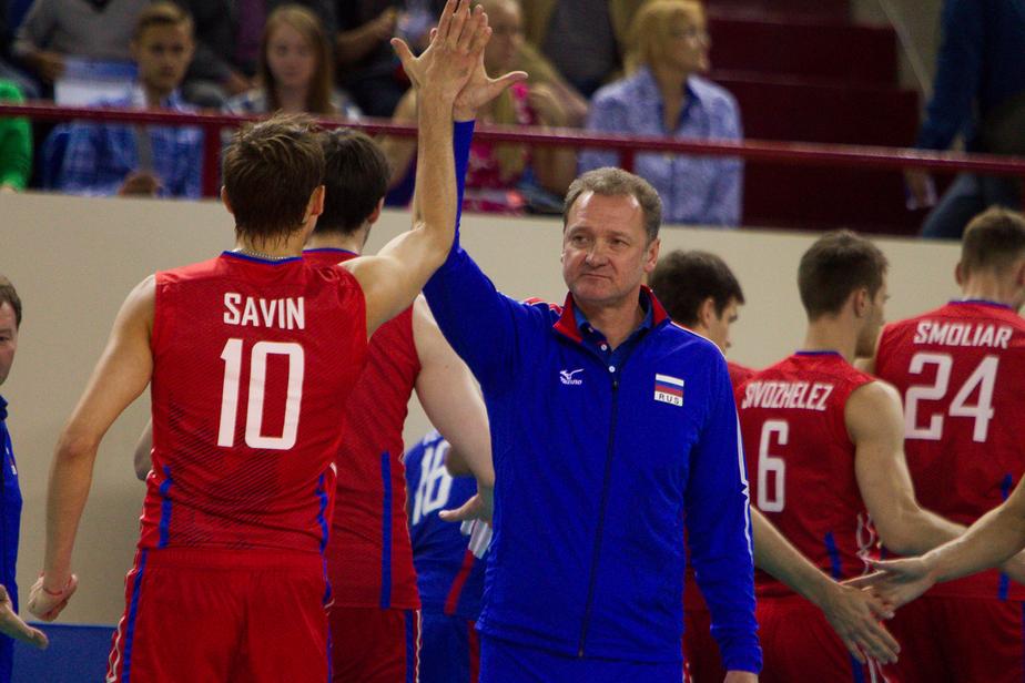 Главный тренер мужской сборной России по волейболу подал в отставку - Новости Калининграда