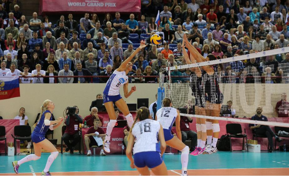 Российские волейболистки выиграли два матча мирового Гран-при в Калининграде - Новости Калининграда