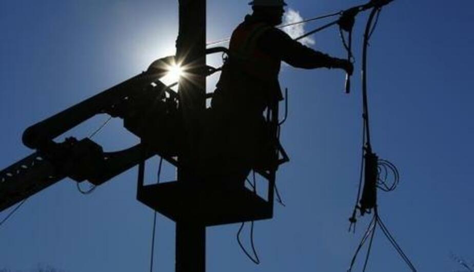 """Бригады """"Янтарьэнерго"""" восстановили энергоснабжение после шторма - Новости Калининграда"""