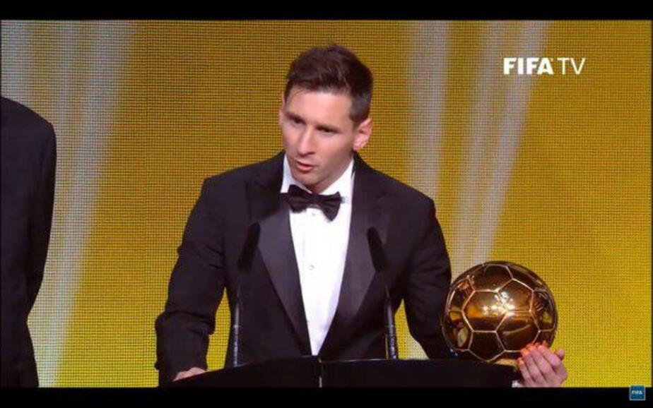 Месси в пятый раз стал лучшим футболистом мира