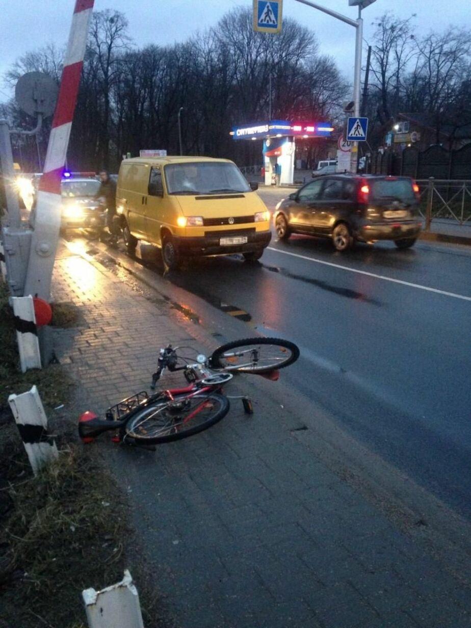 На ул. Суворова на пешеходном переходе сбили 59-летнего велосипедиста - Новости Калининграда