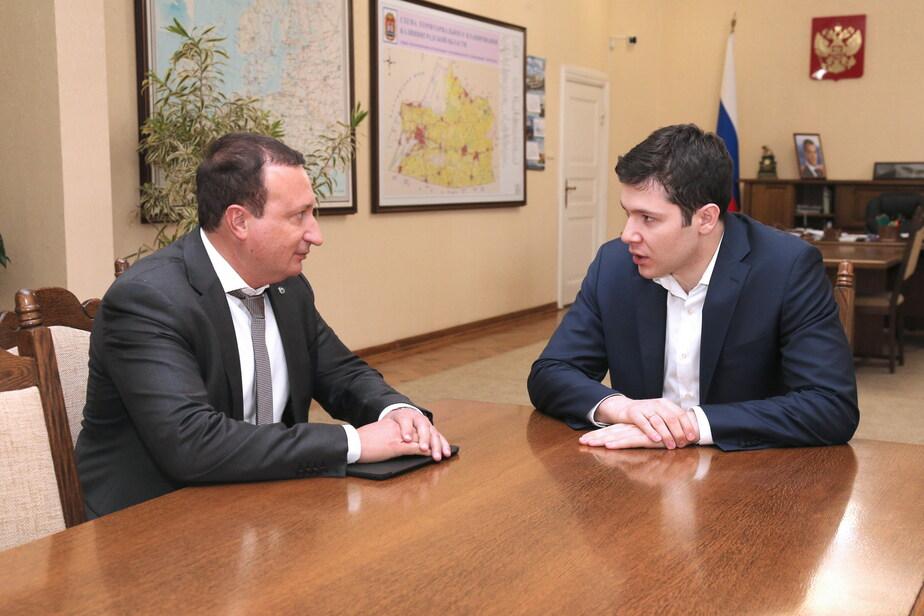 Алиханов обсудил с председателем Северо-Западного банка Сбербанка вопросы развития инфраструктуры и кредитных программ - Новости Калининграда