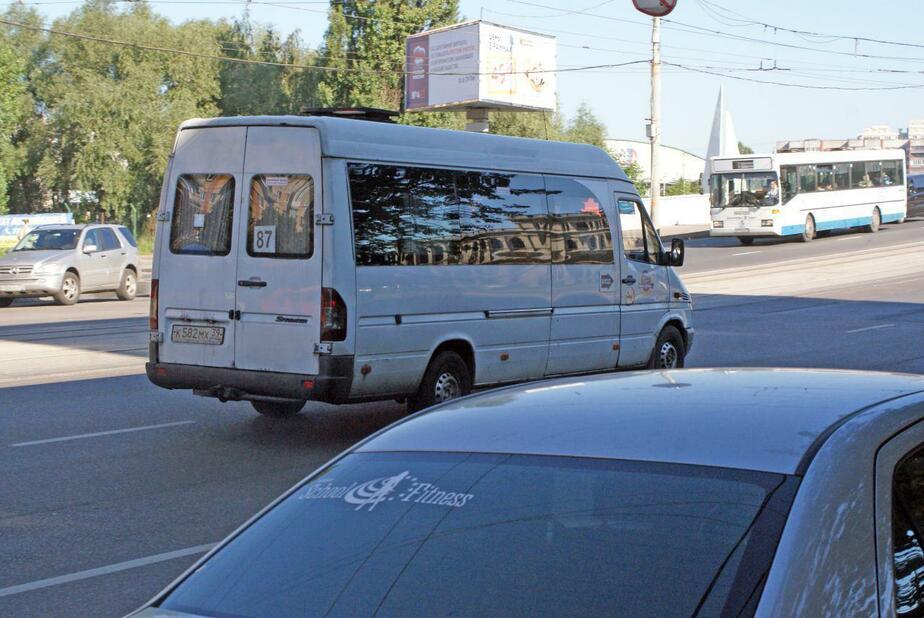 В Калининграде продолжает ходить нелегальный транспорт (фото) - Новости Калининграда