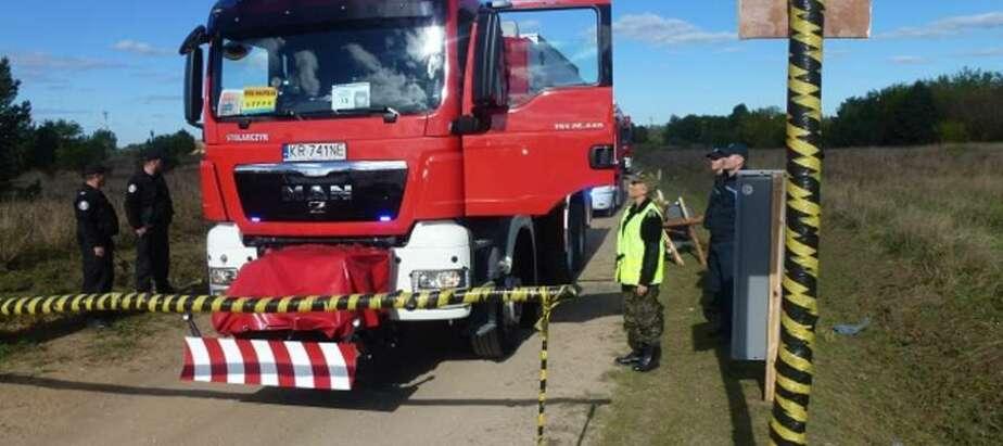 Калининградские пожарные приняли участие в международных учениях в Польше   - Новости Калининграда
