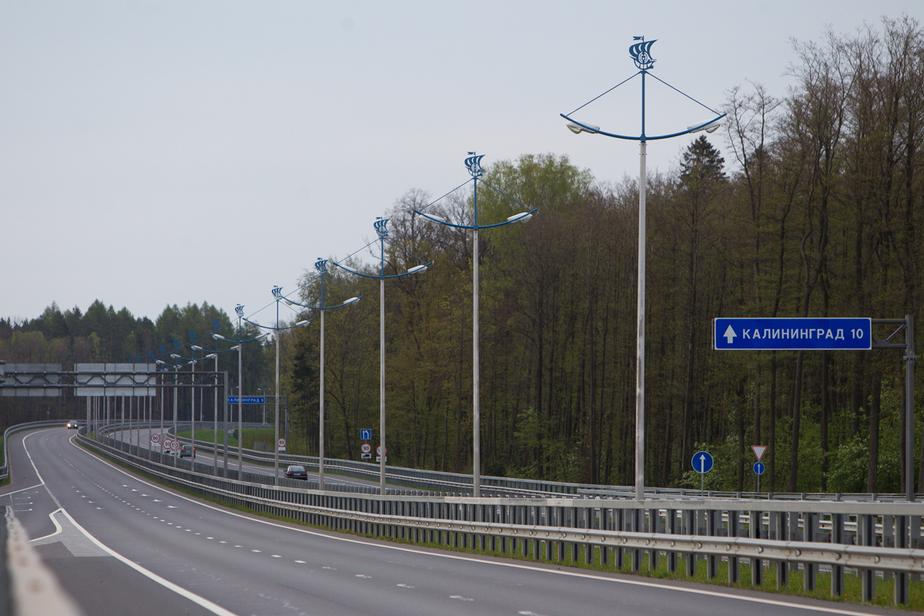 Калининградские водители сообщают об авариях на Приморском кольце из-за гололеда
