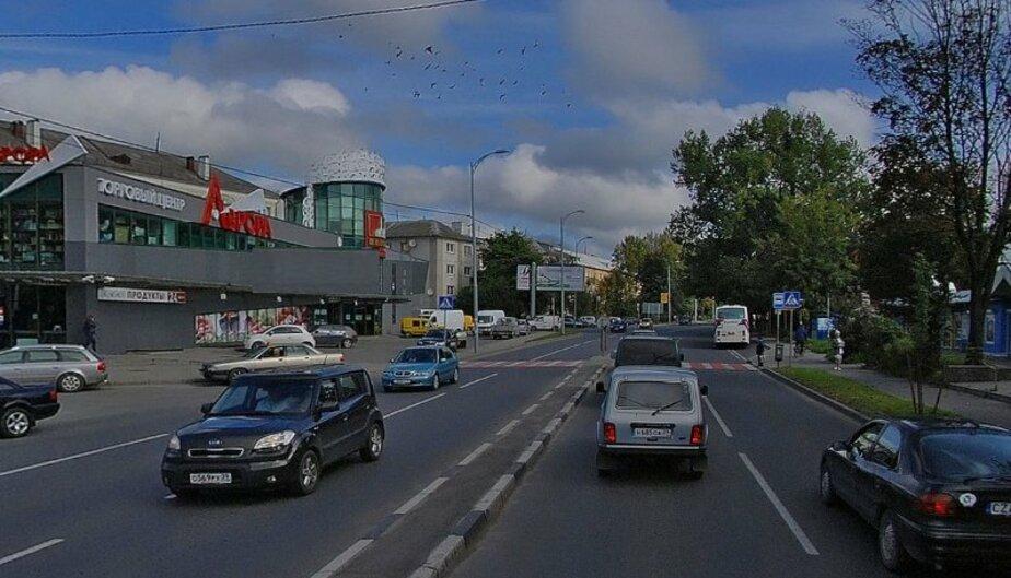 """В Калининграде у """"Авроры"""" ликвидировали пешеходный переход - Новости Калининграда"""