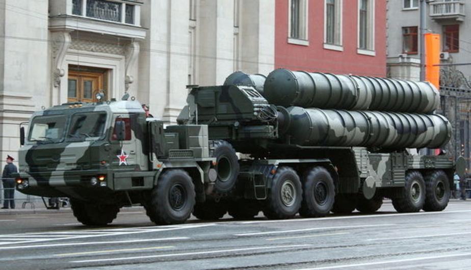 Россия развернула в Сирии зенитно-ракетный комплекс С-400