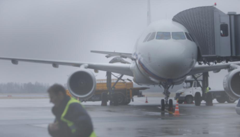 В Калининграде из-за густого тумана задерживаются авиарейсы - Новости Калининграда