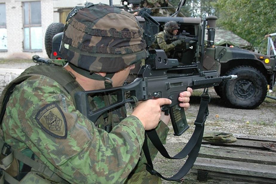 Вторая литовская мотопехотная бригада разместится у границ с Калининградской областью