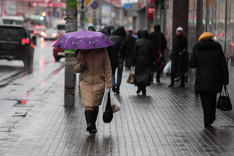 На выходных в Калининграде ожидается мокрый снег