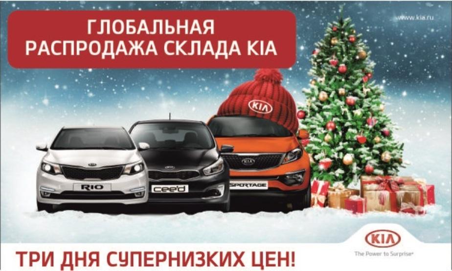 Только три дня глобальной распродажи склада KIA по супернизким ценам!  - Новости Калининграда