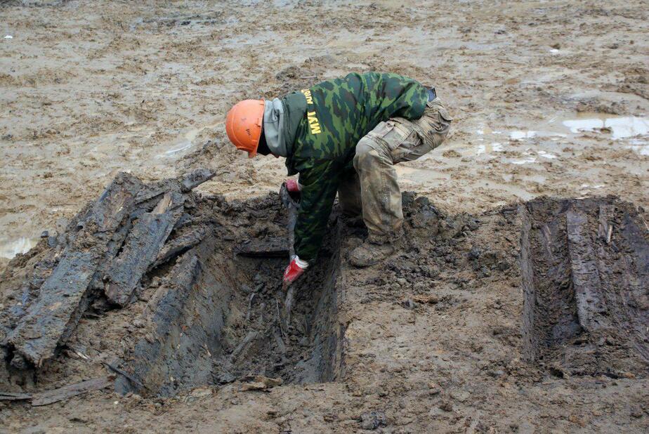 На стройплощадке в Калининграде обнаружили останки мирных жителей Кёнигсберга - Новости Калининграда