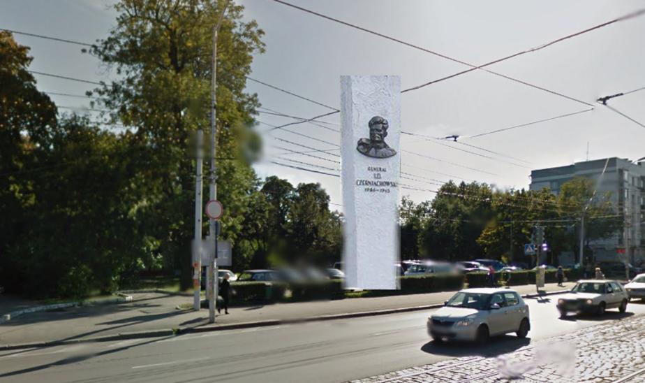 Где в Калининградской области может стоять памятник Черняховскому, снесенный в Польше: мнения - Новости Калининграда