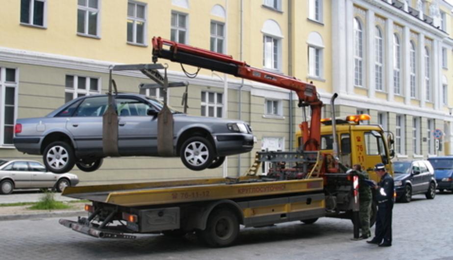 Регионам запретят определять тарифы на эвакуацию автомобилей - Новости Калининграда