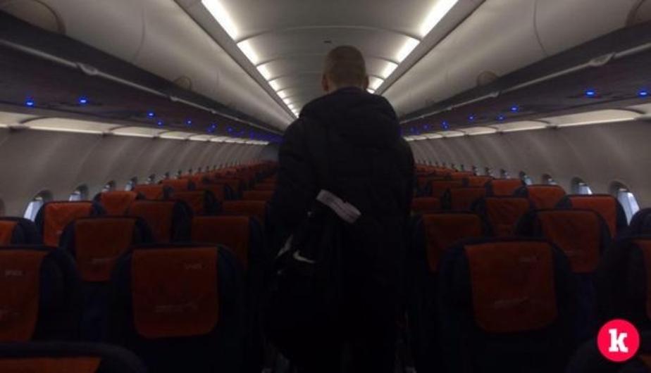 В Амстердаме самолёт при посадке выехал за пределы ВПП (видео) - Новости Калининграда