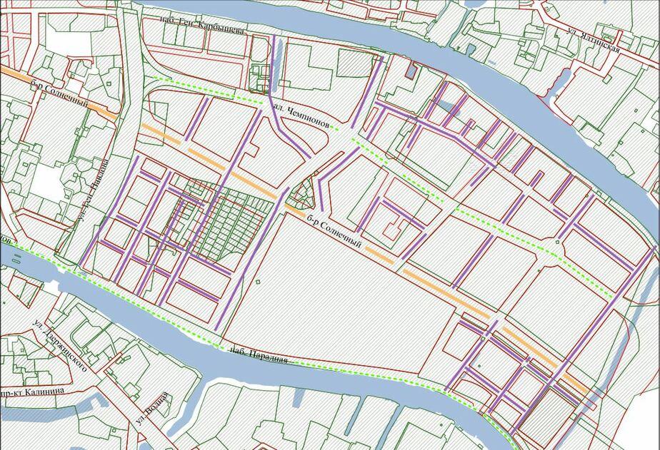 Карта: администрация Калининграда
