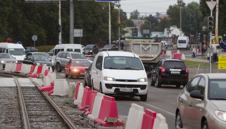 Улицу Литовский вал временно сделают односторонней - Новости Калининграда