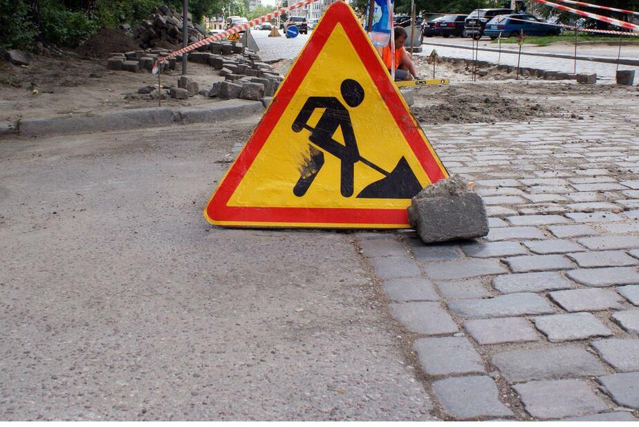 Параллельную с улицей Невского дорогу на четыре дня закроют на ремонт  - Новости Калининграда