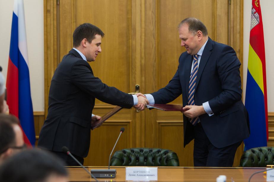 """""""Нам есть что предложить региону"""": банк ВТБ подписал партнёрское соглашение с правительством Калининградской области"""