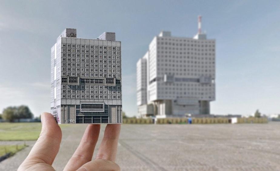 Польская компания выпустила бумажную модель Дома Советов для сборки - Новости Калининграда