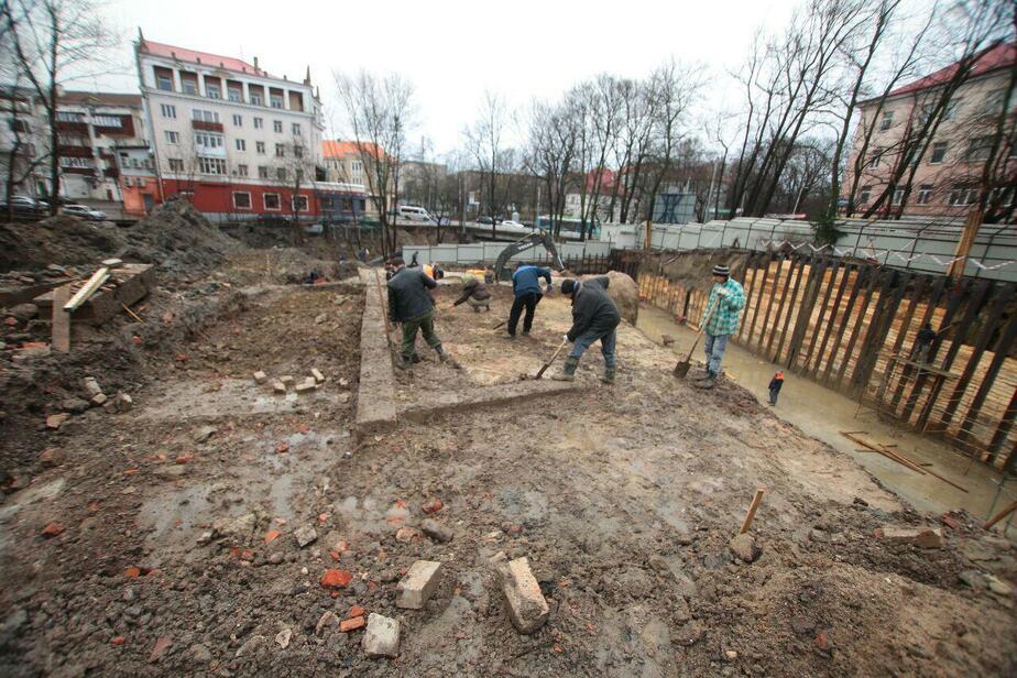 Как у Калининградского зоопарка нашли остатки старинного трактира (фотогалерея) - Новости Калининграда