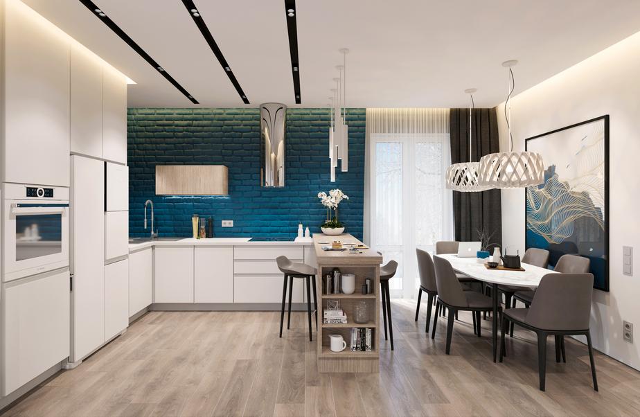 Архитектор Кристина Евстигнеева  создала проект кухни, которой суждено стать главным помещением загородного дома. - Новости Калининграда