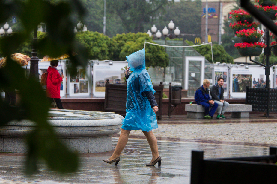 В День города в Калининграде будет сильный ветер и проливные дожди - Новости Калининграда