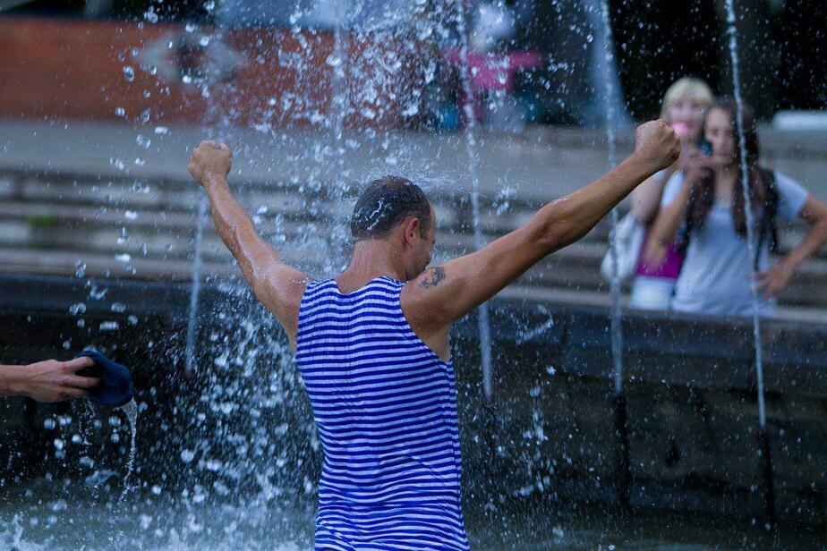 На обслуживание 12 калининградских фонтанов летом потратят 3 млн рублей  - Новости Калининграда