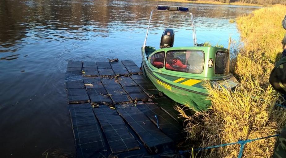 В реке Неман выловили караван из 15 свертков сигарет - Новости Калининграда