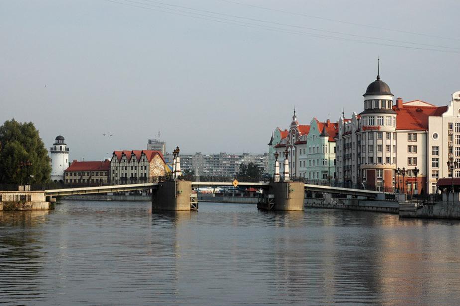 В Калининграде для прохождения теплохода разведут мосты - Новости Калининграда
