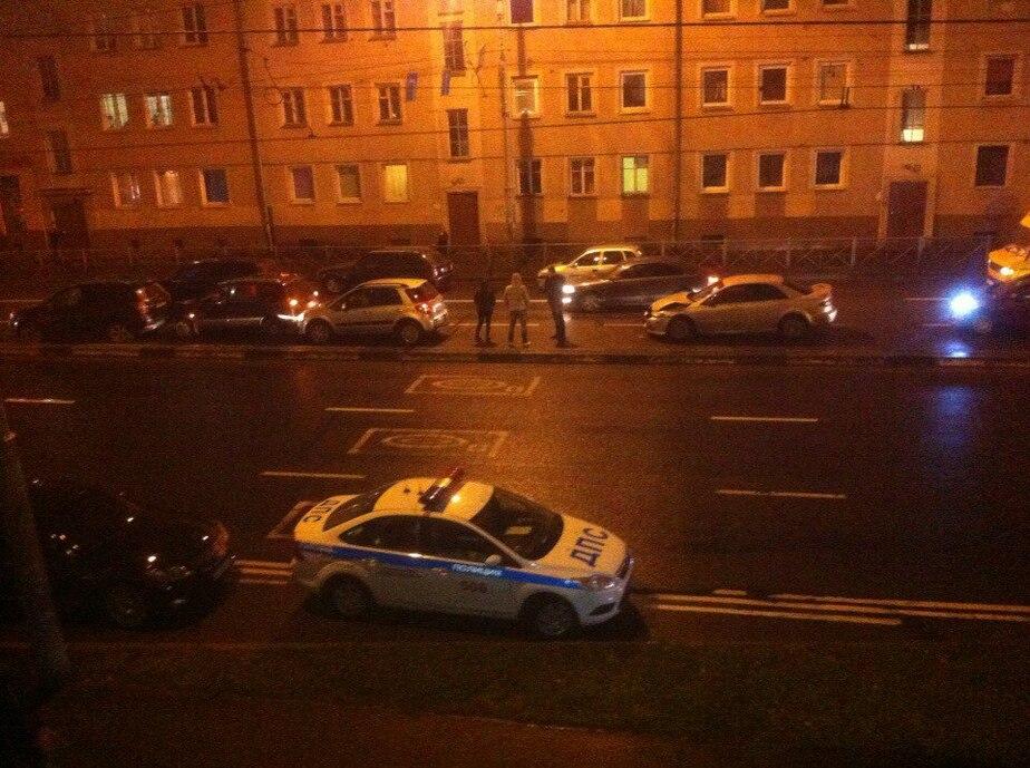 На Советском проспекте столкнулись сразу шесть автомобилей - Новости Калининграда