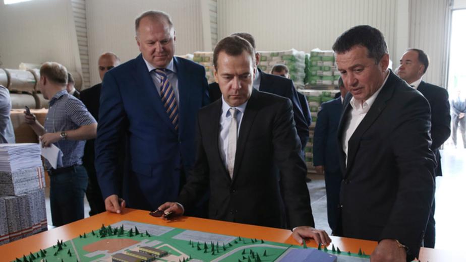 Медведев отметил успехи Калининградской области в жилищном строительстве - Новости Калининграда