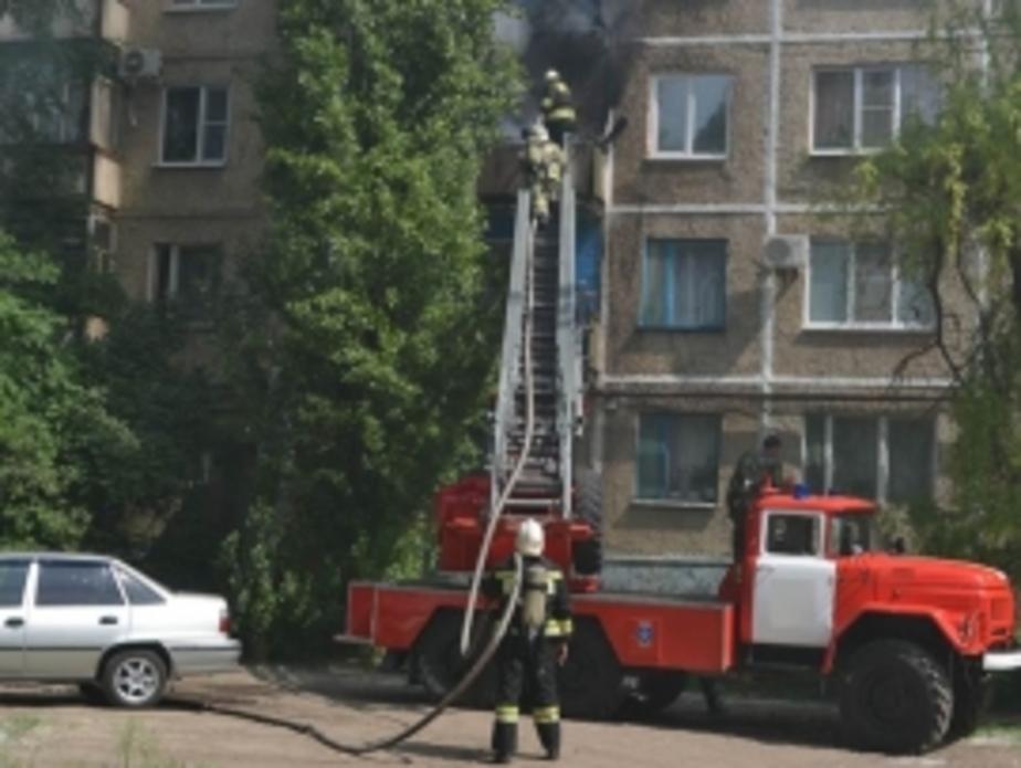 На ул. Согласия в жилом доме вспыхнул балкон - Новости Калининграда