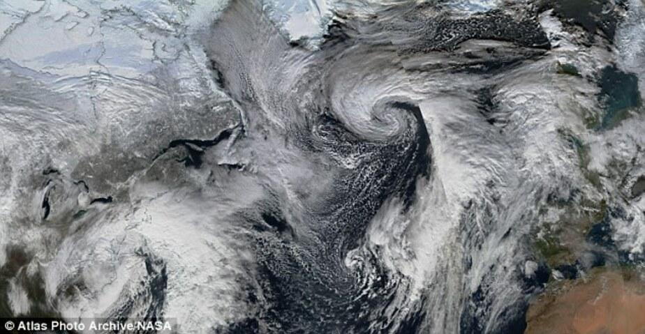 Сильнейший снежный шторм Джонас движется из США в Европу - Новости Калининграда