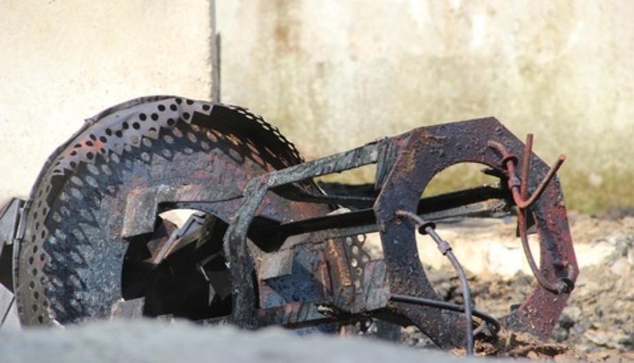 Сгоревшую год назад часовню в Малиновке до сих пор не восстановили - Новости Калининграда