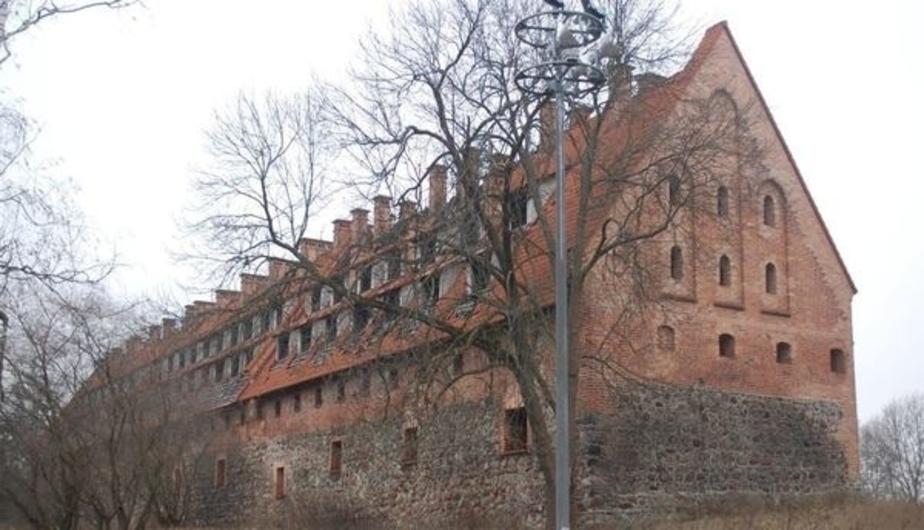 Замок Прейсиш-Эйлау закрыли из-за аварийного состояния   - Новости Калининграда