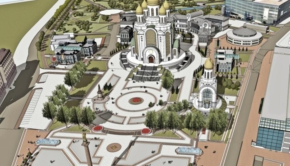 Стала известна стоимость земли под строительство памятника Владимиру в Калининграде - Новости Калининграда