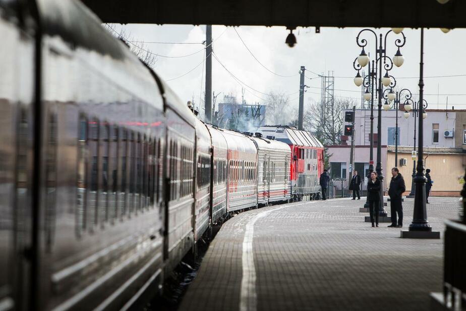 Пассажирам предлагают проголосовать за самое удобное время отправления вечернего поезда Калининград — Балтийск - Новости Калининграда