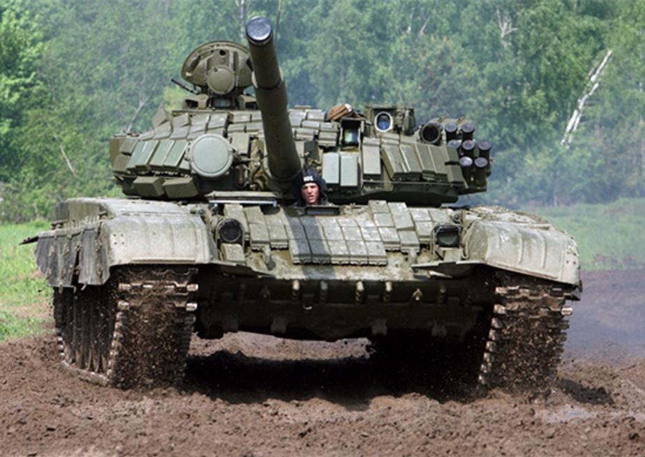Танкисты Балтфлота отрабатывают  стрельбу по самолетам  - Новости Калининграда