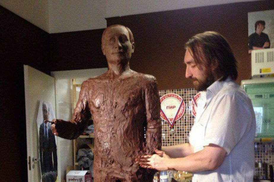 В Санкт-Петербурге сделают 70-килограммового шоколадного Путина